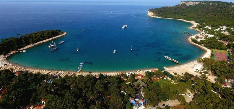 Wonderful Beaches and Bays in Antalya, Kemer